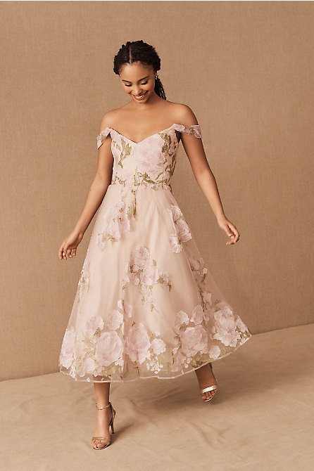 Marchesa Notte Sambuca Dress