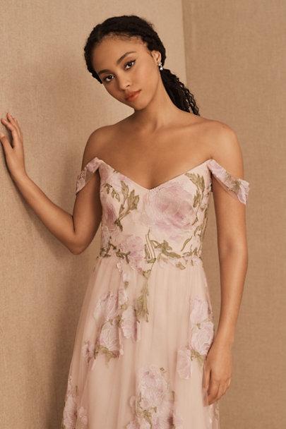 View larger image of Marchesa Notte Sambuca Ruffle Dress