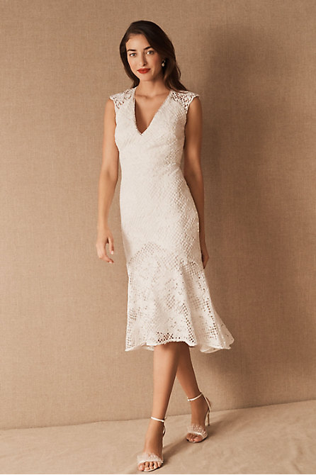 ML Monique Lhuillier x BHLDN Lorre Dress