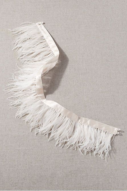 Stuyvesant Feather Sash