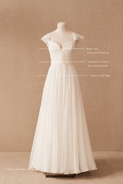View larger image of Nouvelle Amsale Allemande Gown
