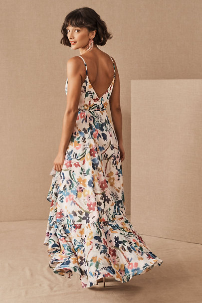 View larger image of Nico V-Neck Floral Wrap Dress