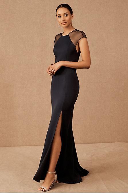 Amsale Revasse Dress