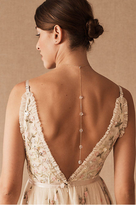Gala Back Necklace