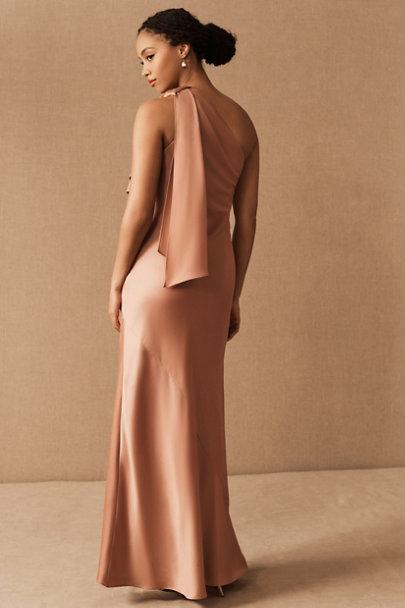 View larger image of Montague One-Shoulder Satin Dress