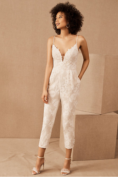 Hayley Paige Campbell Lace Jumpsuit