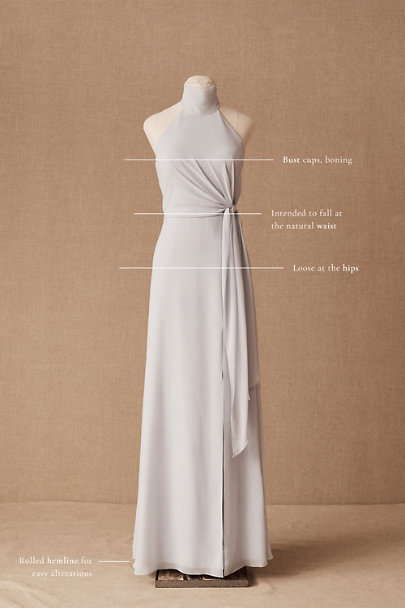 View larger image of Jenny Yoo Elliya Mock Neck Dress