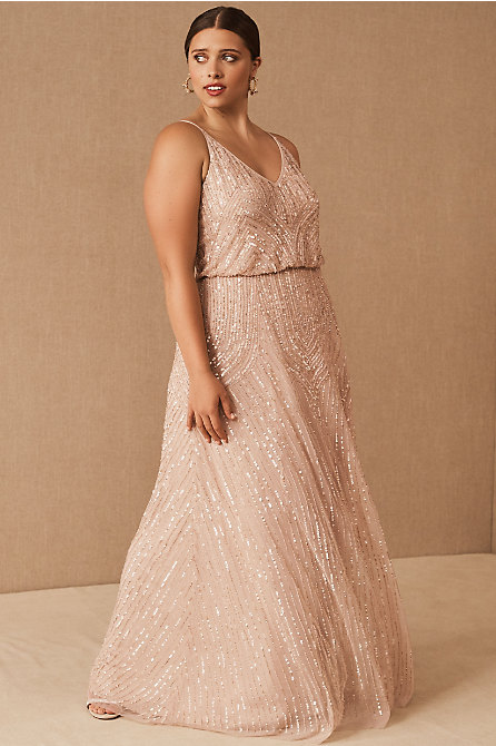 Fidelia Beaded Maxi Dress