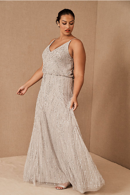 Fidelia Beaded Maxi Dress