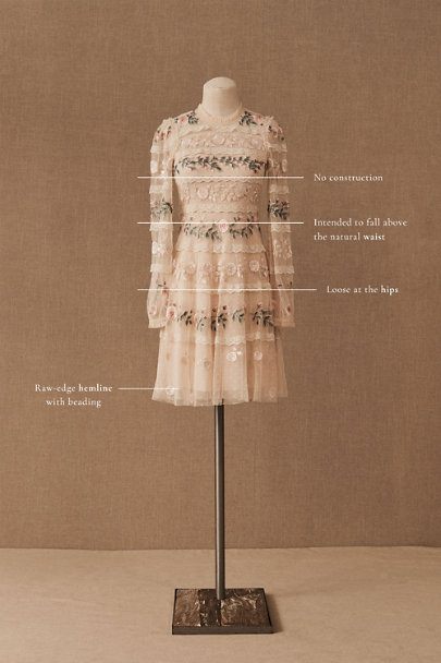 View larger image of Needle & Thread Precious Rose Dress