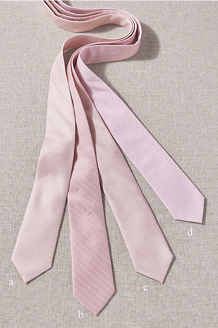 BHLDN Blush Tie Collection