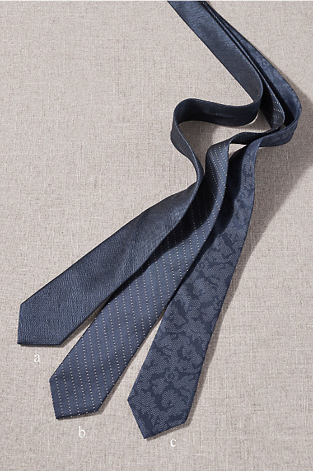 BHLDN Navy Tie Collection