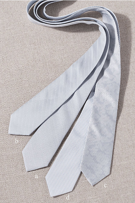 BHLDN Light Blue Tie Collection