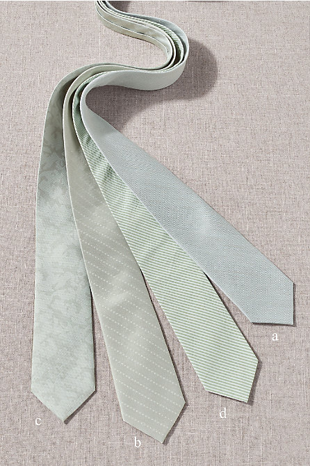 BHLDN Sage Tie Collection