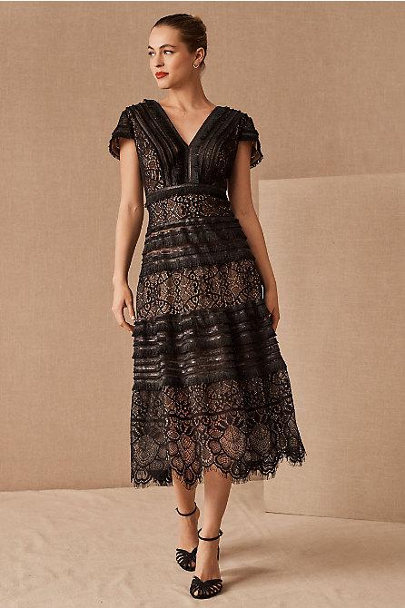 Tadashi Shoji Orinda V-Neck Dress