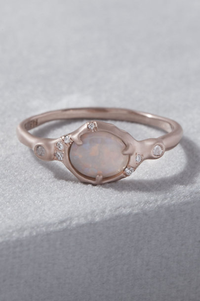 View larger image of Sirciam Sunbeam Band Opal Ring