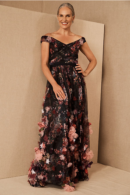 Marchesa Notte Adelzia Dress