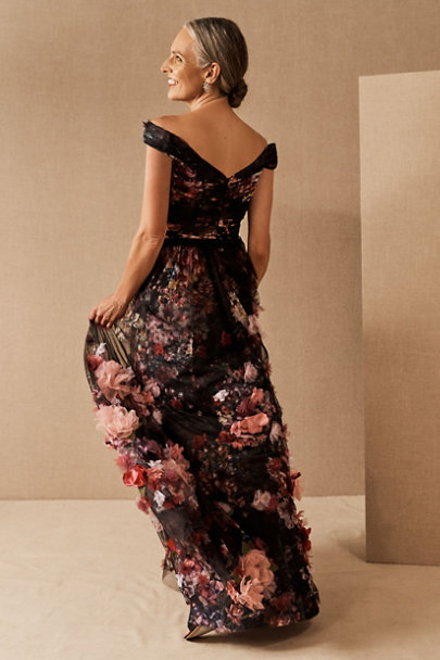 View larger image of Marchesa Notte Adelzia Dress
