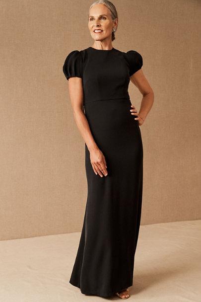1940s Formal Dresses, Evening Gowns History Sachin & Babi Linna DressSize Guide Video $245.00 AT vintagedancer.com