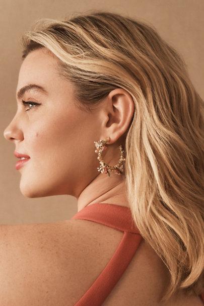 View larger image of Fleurette Preserved Flower Earrings