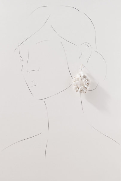 View larger image of Tiana Preserved Flower Earrings