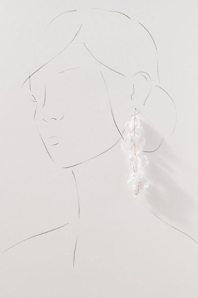 View larger image of Elsa Preserved Flower Earrings