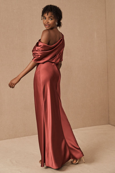 View larger image of Pryce Off-the-Shoulder Column Dress