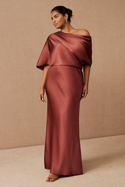 View larger image of Pryce Off-the-Shoulder Column Dress