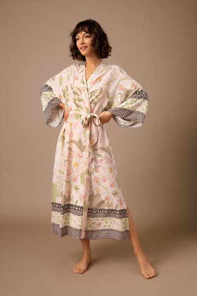View larger image of Homebodii Poppins Kimono Robe