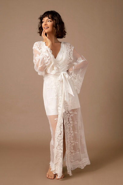 View larger image of Homebodii Madona Lace Robe