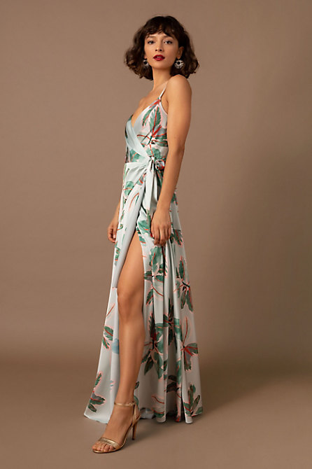 Hutch Saratoga Maxi Wrap Dress