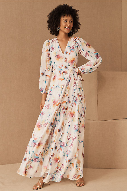 Juliette Long Sleeve Maxi Dress