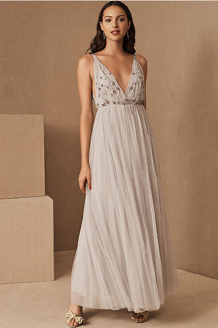 Needle & Thread Neve Embellished Bodice Maxi Dress