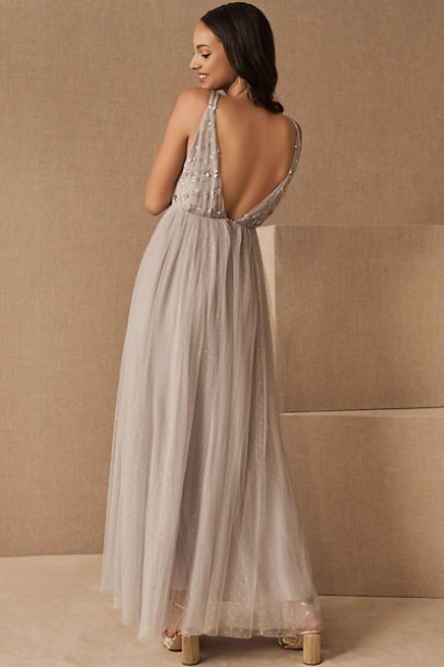 View larger image of Needle & Thread Neve Embellished Bodice Maxi Dress