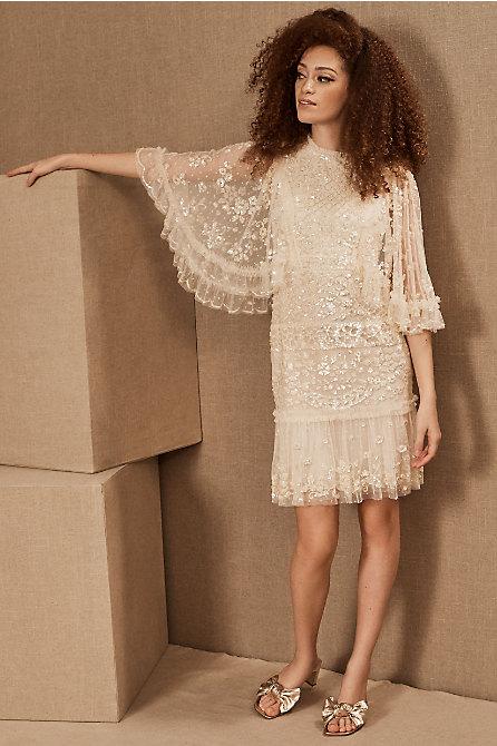 Needle & Thread Melody Sequin Mini Dress