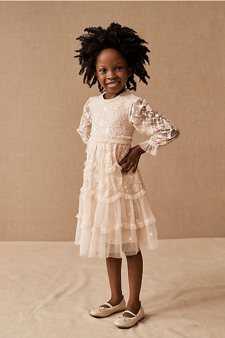 Needle & Thread Marigold Rose Kids Dress