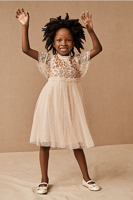 Needle & Thread Lilybelle Sequin Kids Dress