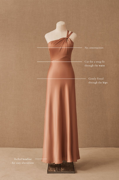 View larger image of Ashland Satin Charmeuse Dress