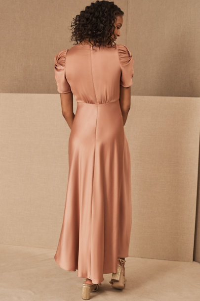 View larger image of Leyden Satin Midi Dress