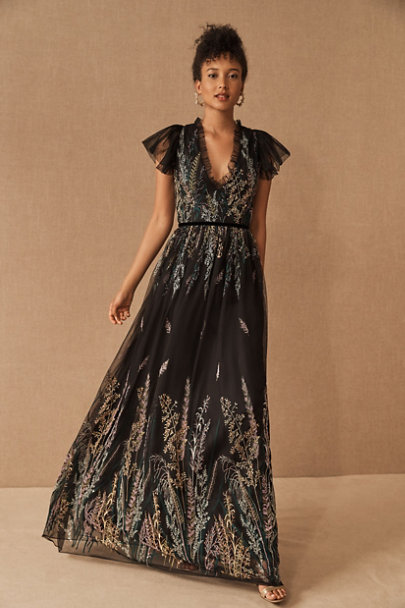 View larger image of ML Monique Lhuillier Jayelle Dress