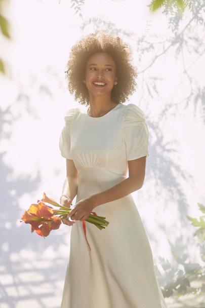 View larger image of Leyden Satin Midi Dress