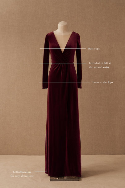 View larger image of Jenny Yoo Ryland Velvet Dress