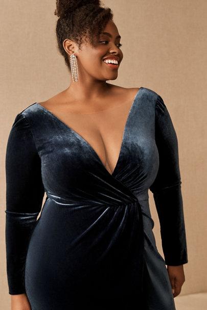 View larger image of Jenny Yoo Ryland Velvet Maxi Dress