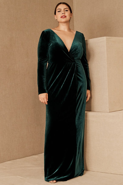 View larger image of Jenny Yoo Ryland Velvet Maxi Dress