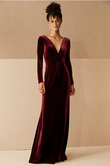 Jenny Yoo Ryland Velvet Dress