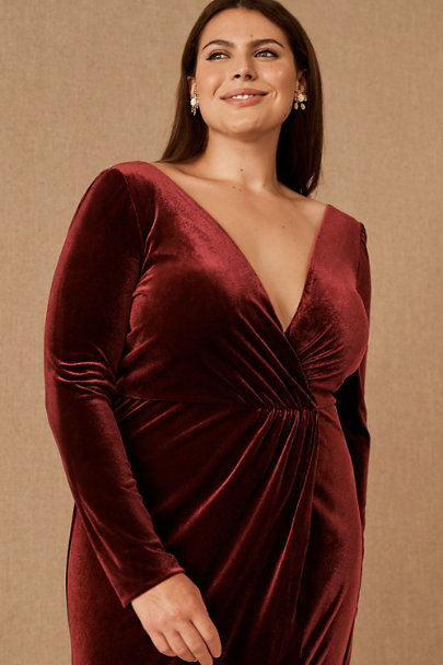 View larger image of Jenny Yoo Ryland Velvet Dress