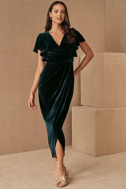 View larger image of BHLDN Dover Velvet Dress
