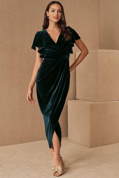 View larger image of BHLDN Dover Velvet Dress
