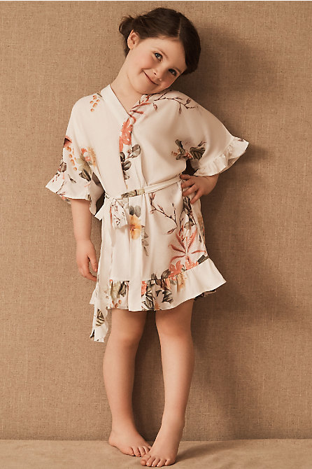 Vista Flutter Flower Girl Robe