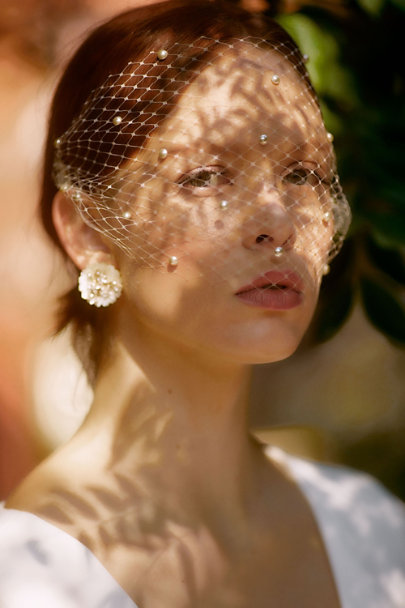 View larger image of Silona Birdcage Veil